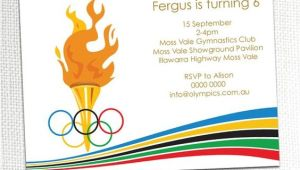 Olympic Party Invitation Template Olympic Party Invitations Olympic Party Invitations