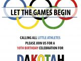 Olympics Party Invitation Moore Minutes Our Little athlete Olympic Party Sneak Peek