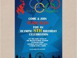 Olympics Party Invitations Printable Items Similar to Sale Olympic Games Party Invitation
