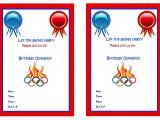 Olympics Party Invitations Printable Olympics Birthday Invitations Birthday Printable