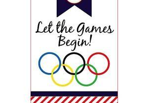 Olympics themed Party Invitations Kara 39 S Party Ideas Olympic themed Party Free Printables