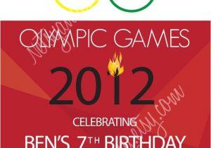 Olympics themed Party Invitations Olympic Birthday Invitation by Netsyandcompany On Etsy