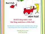 One Fish Two Fish Baby Shower Invitations Dr Seuss E Fish Two Fish Baby Shower Invitation