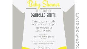 Onesies Baby Shower Invitations Esie Baby Shower Invitation