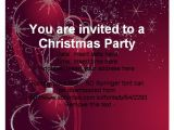 Online Christmas Party Invitation Templates Free Free Christmas Party Invitation Template Cimvitation