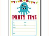 Online Party Invitation Template 6 Microsoft Online Templates Bookletemplate org