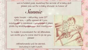 Open House Baby Shower Invitation Wording Baby Shower Food Ideas Baby Shower Ideas Open House