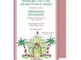 Open House Birthday Party Invitation Wording Open House Party Invitation Wording Cimvitation