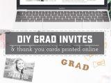 Order Graduation Invitations Online Diy Graduation Invitations and Thank You Cards Online