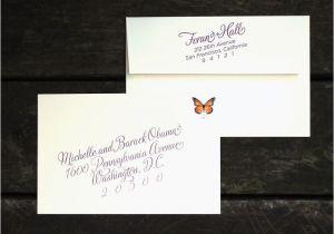 Outer Envelopes for Wedding Invitations Custom Wine Harvest Wedding Invitation Outer Envelope