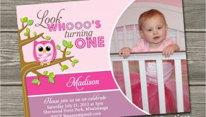 Owl 1st Birthday Party Invitations Owl 1st Birthday Invitations Ideas Bagvania Free