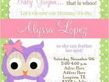 Owl Baby Shower Invitations for Girls 30 Best Baby Shower Invitations Images On Pinterest