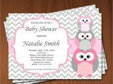Owl Baby Shower Invitations for Girls Owl Baby Shower Invitation Girl Baby Shower Invitations