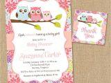 Owl Baby Shower Invitations for Girls Owl Baby Shower Invitations Diy Printable Baby Girl