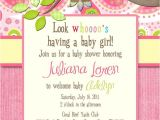Owl Baby Shower Invitations for Girls Paisley Owl Look whooos Having A Baby Shower Invitation