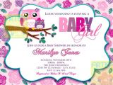 Owl Baby Shower Invitations for Girls Pink Owl Baby Shower Invitation Owl Baby Girl Shower