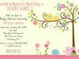 Owl themed Baby Shower Invitation Template Tips to Make Baby Shower Invitation Templates