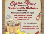 Oyster Roast Birthday Invitations Personalized Oyster Roast Party Invitations