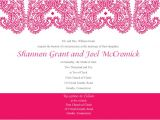 Paisley Wedding Invitation Template Paisley Wedding Invitation Template Vector 123freevectors
