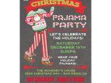 Pajama Party Invitation Template Chalkboard Christmas Pajama Party Invitations Zazzle Com