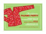 Pajama Party Invitation Template Christmas Holiday Pajama Party Invitation Zazzle