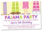 Pajama Party Invitation Template Printable Girl Pajama Party Invitations by Your Blissful