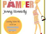 Pamper Baby Shower Invitations 26 Best Images About Pamper Baby Shower On Pinterest