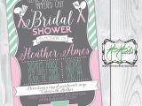 Pampered Chef Bridal Shower Invitation Wording Pampered Chef Bridal Shower Invitation Blush Pink Mint