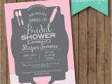 Pampered Chef Bridal Shower Invitations Kitchen Bridal Shower Invitation Pampered Chef by
