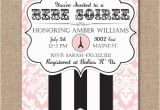 Paris themed Baby Shower Invites Items Similar to Printable Baby Shower Invitation Paris
