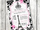 Paris themed Baby Shower Invites Paris Baby Shower Invitation Paper Goods Invitations Eiffel