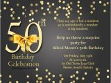 Party City 50th Birthday Invitations 50th Birthday Invitation Wording Samples Wordings and