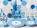 Party City Baby Shower Invitations and Decorations Blue Stroller Baby Shower Party Supplies