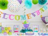 Party City Baby Shower Invitations and Decorations Bright Wel E Baby Shower Decorations Party City