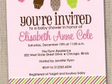 Party City Baby Shower Invitations Girl Template Free Printable Baby Shower Girl Invitation