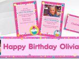 Party City Custom Birthday Invitations Custom Cupcake Party Invitations Thank You Notes Party