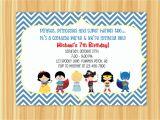 Party City Custom Birthday Invitations Party Invitations Custom Party Invitations Cartoon Ideas