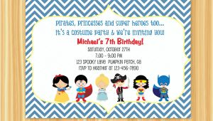 Party City Custom Invites Party Invitations Custom Party Invitations Cartoon Ideas