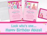 Party City Girl Birthday Invitations Custom One Wild Girl 1st Birthday Invitations Thank You