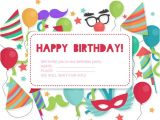 Party Invitation Cards Online Free Birthday Invitation Card Vector Free Download