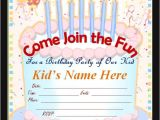 Party Invitation Cards Online Free Free 63 Printable Birthday Invitation Templates In Pdf