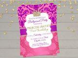 Party Invitation Cards Online India Bollywood Invitation Indian Princess Birthday Invitation