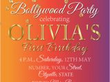 Party Invitation Cards Online India Indian Invitation Holi Invitation Bollywood Birthday Party