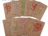 Party Invitation Cards with Envelopes 5pcs Vintage Hollow Out Paper Envelopes Wedding Party