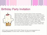 Party Invitation Email Templates Free Email Birthday Invitation Templates