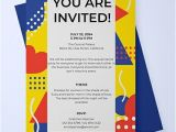 Party Invitation Email Templates Free Free Email Party Invitation Template Word Psd