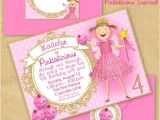 Party Invitation Envelope Template Pinkalicious Party Invitation 5×7 Quot with Address Labels
