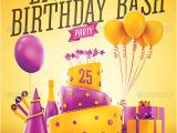 Party Invitation Poster Template 20 Beautifully Designed Psd Birthday Party Flyer Templates