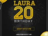Party Invitation Poster Template Birthday Party Invitation Flyer Template Postermywall
