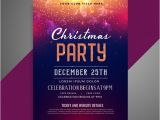 Party Invitation Poster Template Christmas Party Invitation Vectors Photos and Psd Files
